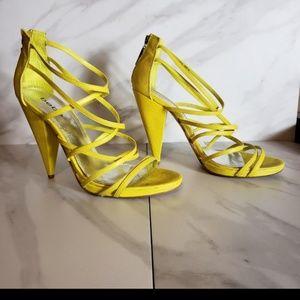bebe Shoes - Yellow Bebe shoes